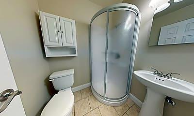 Bathroom, Springfield Valley Apartments, 2
