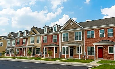 Building, Towns at Woodfield, 2