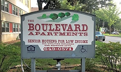 Boulevard Apartments, 1