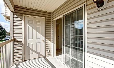 Patio / Deck, Crosswood Apartments, 2