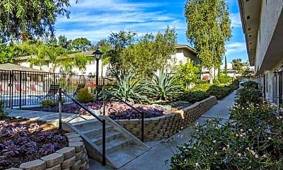 Landscaping, Casa Monterey, 1