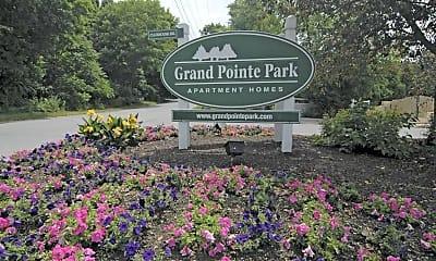 Community Signage, Grand Pointe Park, 2