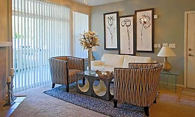 Living Room, Center Pointe Apartments, 0