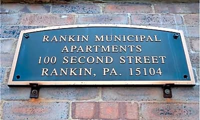 Community Signage, 100 Rankin Blvd, 2