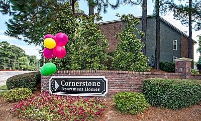 Community Signage, Cornerstone Apartments, 0