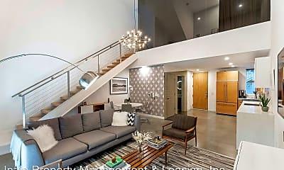 Living Room, 123 N. Kings Rd #6, 1