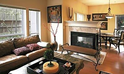 Living Room, Milano Apts. Homes, 1