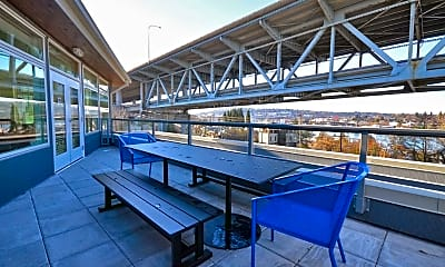 Patio / Deck, AW Larson Building, 2
