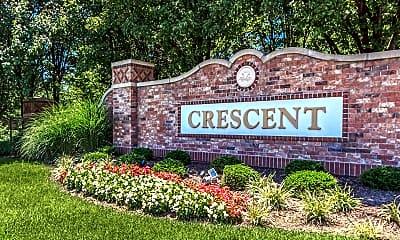 Community Signage, Crescent Apartments, 1