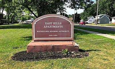 East Hills Apartments, 1