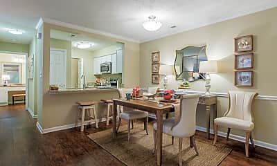 Dining Room, Uptown Gardens Apartments, 1