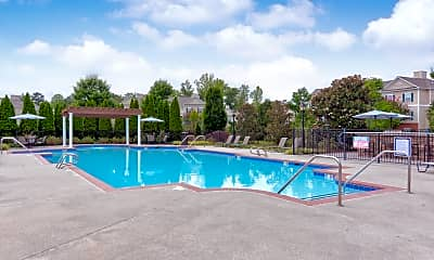 Pool, River Forest Apartments, 1