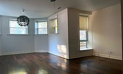 Living Room, 1434 W. Lunt Ave., Unit G, 0