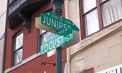 Community Signage, 1324 Locust St 503, 2