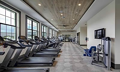Fitness Weight Room, The Avenue, 2