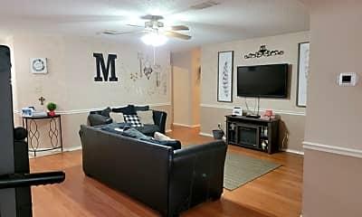 Living Room, 15903 Pecan Pass, 1