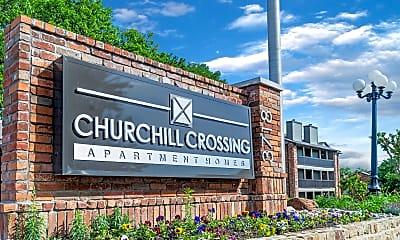 Community Signage, Churchill Crossing, 2