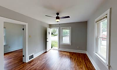Living Room, 3115 Ellis, 1