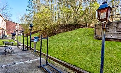 Recreation Area, Oak Grove Apartments, 1