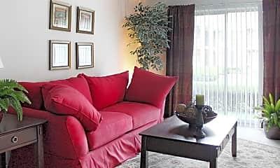Living Room, Knollwood Village Apartments, 1