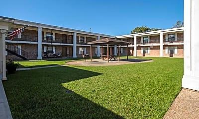 Courtyard, Casa Grande Apartments, 0