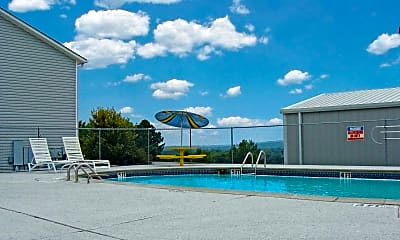 Pool, Oak Tree Apartments, 0
