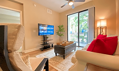 Living Room, 4504 W Spruce St, 1