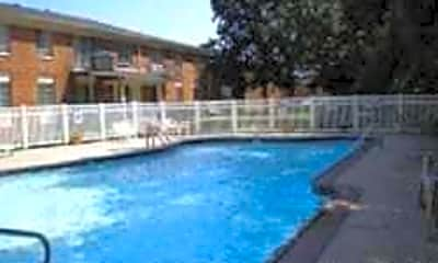 Pool, Kings Forest Apartments, 1