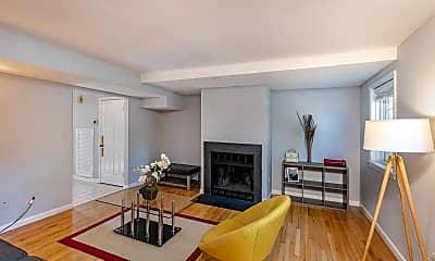 Living Room, 4820 Bradley Blvd 208, 1