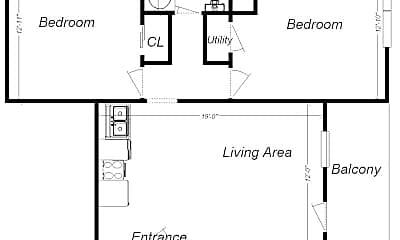Building, 3510 Louisa St, 1