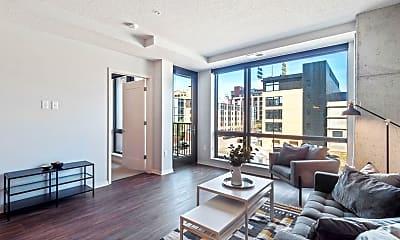 Living Room, 811 S Washington Ave 1508, 1