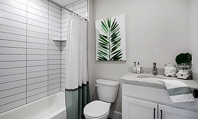 Bathroom, East Main Manayunk Apartments, 2