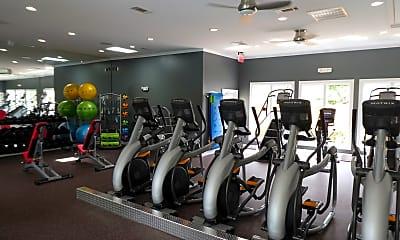 Fitness Weight Room, TGM Odenton, 1