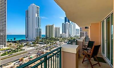 Patio / Deck, Ocean Views... 17555 Atlantic Blvd, 0