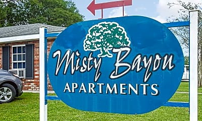 Community Signage, Misty Bayou Apartments, 2