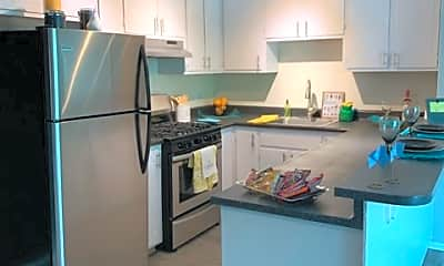 Kitchen, Cottage Bell Apartments, 2