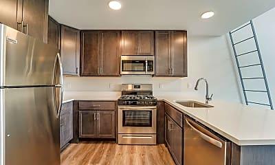 Kitchen, 660 Grand St 205, 1