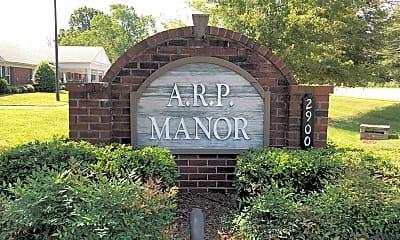 Arp Manor, 1