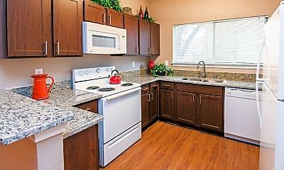 Kitchen, Villas of Preston Creek, 1