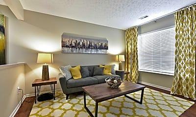 Living Room, Abbie Lakes, 1
