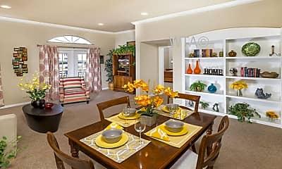 Dining Room, 7733 Louis Pasteur, 1