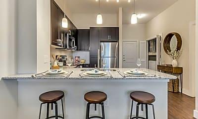 Kitchen, Riverside Park Apartments, 1