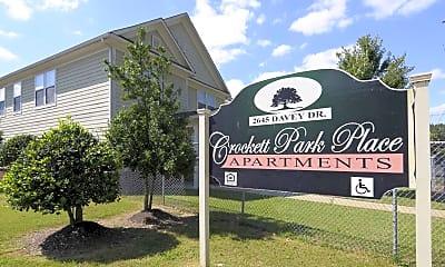 Community Signage, Crockett Park Place, 2