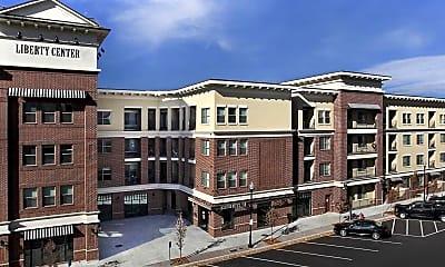 Building, Liberty Center Apartments, 0