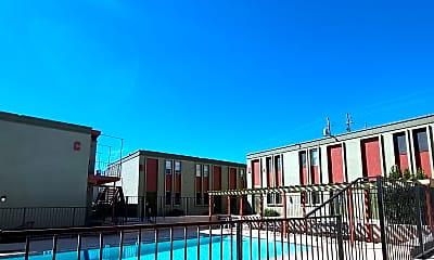 Pool, Continental House, 1