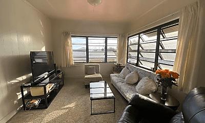 Living Room, 3123 E Manoa Rd, 1