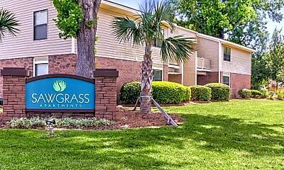 Community Signage, Sawgrass, 2