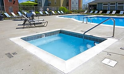 Pool, The Place at 117 - Per Bed Lease, 1