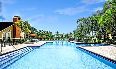 Pool, The Landings at Pembroke Lakes Apartments, 1