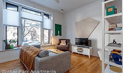 Living Room, 1355 W Ohio St, 0
